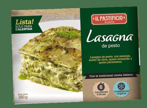 Comida Lista - Lasagna Pesto
