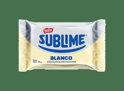 Chocolate Sublime Sonrisa Blanco NESTLÉ