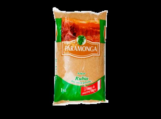 Azúcar rubia doméstica paramonga paquete 50x1kg
