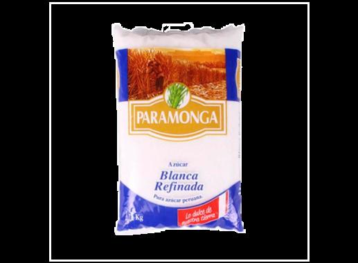Azúcar blanca refinada paramonga paquete 50x1kg
