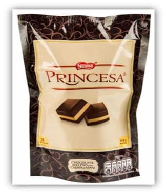 NESTLE PRINCESA CHOC BOLSA