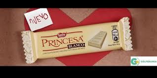NESTLE PRINCESA BLANCO BARRA