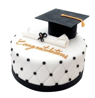 Torta Graduación Birrete- Torta especial