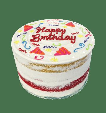 Torta Naked Happy Birthday