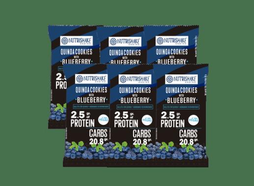 Snack Nutrishake | Galleta con quinua & blueberry