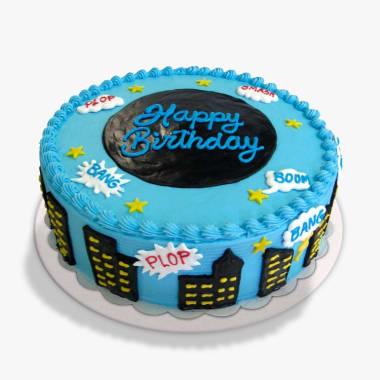Torta Happy Birthday Pop Art