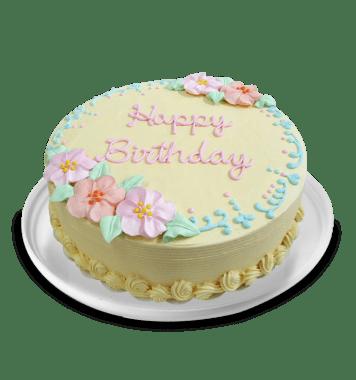 Torta Happy Birthday Flower