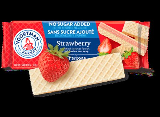 Voortman Wafers Sin Azúcar Fresa