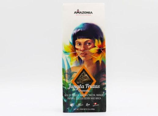 GRANOLA JUNGLA FRUTAS 350G AMAZONIA