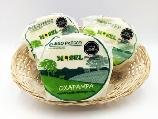 MOSEL TRIPACK DE QUESO FRESCO PASTEURIADO DE OXAPAMPA DE 500G