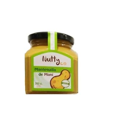 MANTEQUILLA DE MANI NATURAL 300G NUTTY