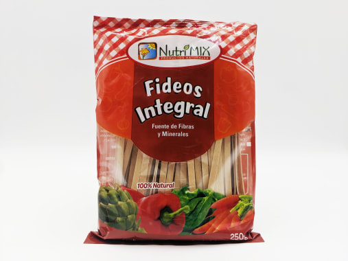 FIDEOS INTEGRAL BOLSA 250G NUTRIMIX