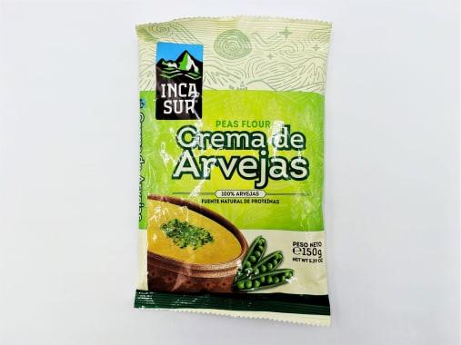 CREMA DE ARVEJAS 150 GR INCA SUR