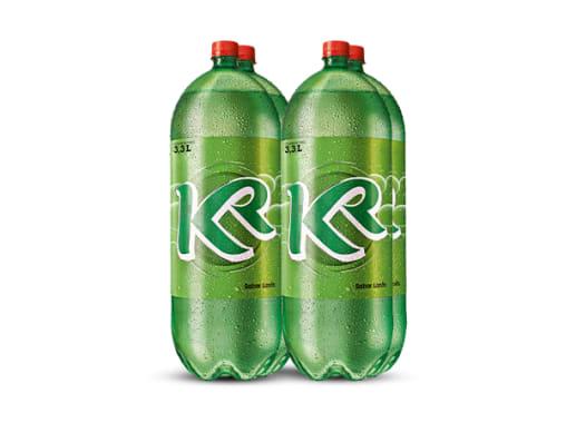 KR sabor Lima Limón 3.3L