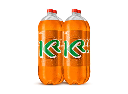 KR sabor Naranja 3.3L