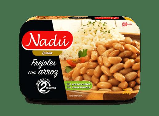 Frejoles con arroz