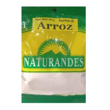 HARINA DE ARROZ 200G NATURANDES