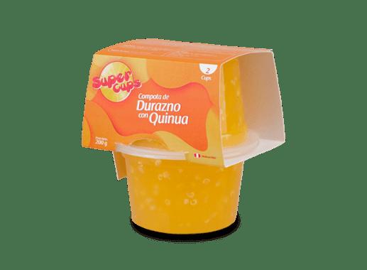 Compota de Durazno con Quinua