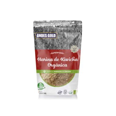 HARINA DE KIWICHA ORGANICA 400G ANDES GOLD