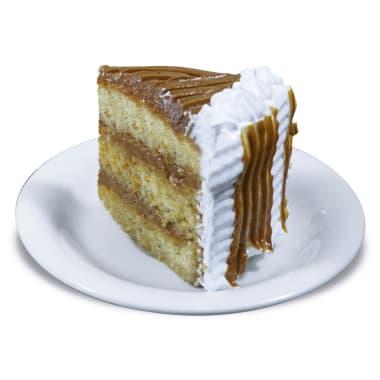 Porción de Torta de Manjar