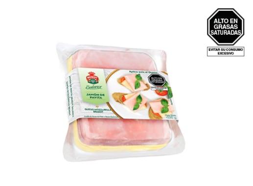 Pack Jamón de Pavita y Queso Mozzarella