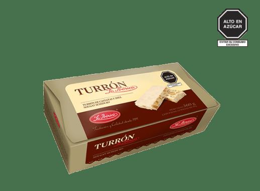 TURRÓN LA IBÉRICA X 30 g X 12 PZS