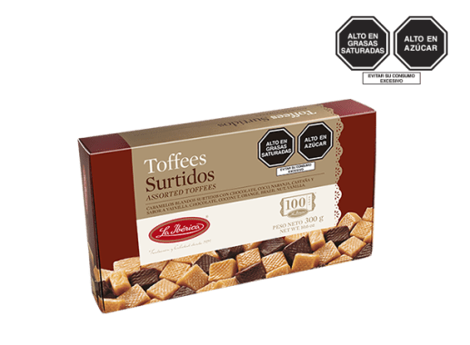 TOFFEES SURTIDOS X 300 g