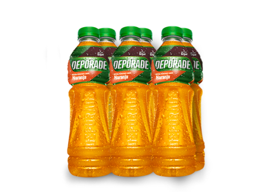 DEPORADE NARANJA PET NO RETORNABLE 625 ML 8