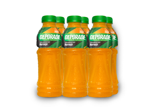 DEPORADE NARANJA PET NO RETORNABLE 360 ML 8