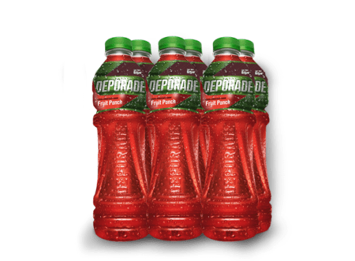 DEPORADE FRUIT PUNCH PET NO RETORNABLE 625 ML 8