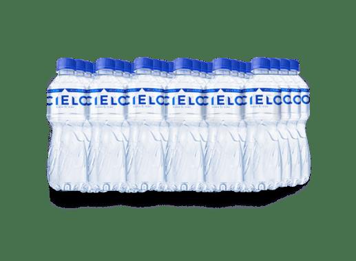 CIELO AGUA SIN GAS PET NO RETORNABLE 375 ml 24 pack