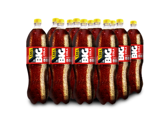 BIG COLA PET NO RETORNABLE 1550 ml 12 pack