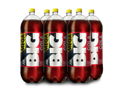 BIG COLA PET NO RETORNABLE 3030 ML 6