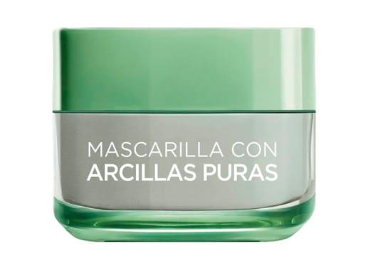 Mascarillas de arcilla purifica y matifica  L'Oréal Paris