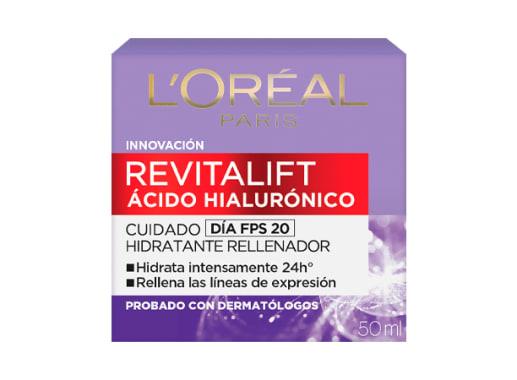 Crema de día con FPS Revitalift Ácido Hialurónico L'Oréal Paris