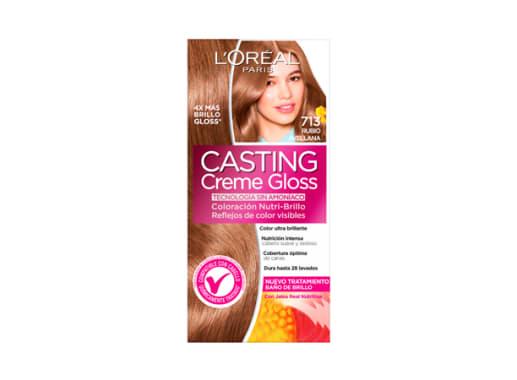 Tinte para Cabello sin amoníaco 713 Rubio Avellana Casting Creme Gloss