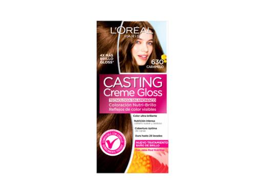 Tinte para Cabello sin amoníaco 630 Caramelo Casting Creme Gloss