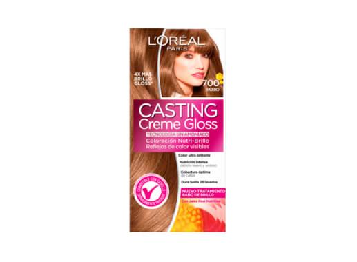 Tinte para Cabello sin amoníaco 700 Rubio Casting Creme Gloss