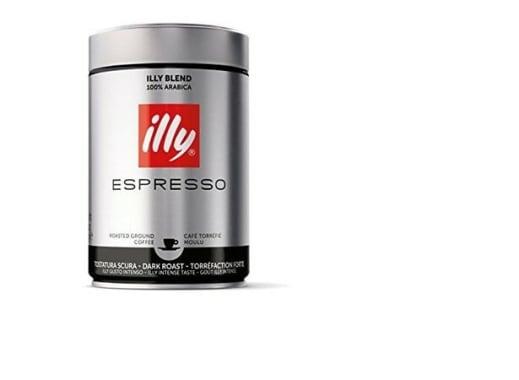 CAFÉ ILLY MOLIDO EXP. TOST. OSCURO