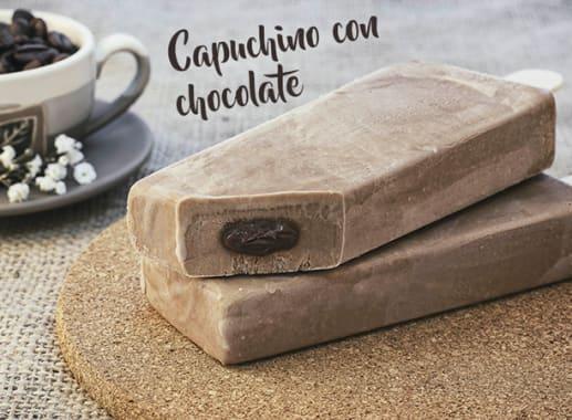 Capuchino con chocolate