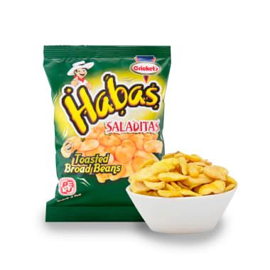 HABAS SALADITAS 100G CRICKET'S