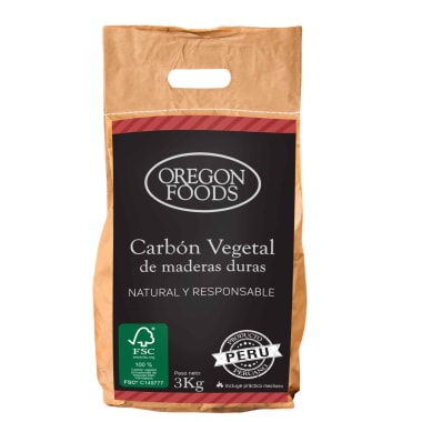 CARBON ECO SOSTENIBLE OREGON FOODS X 3KG
