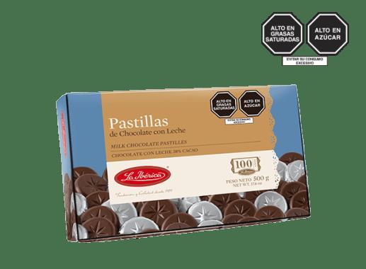 PASTILLAS DE CHOCOLATE CON LECHE X 500 g