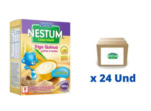Papillas de Cereales Nestum Trigo, Quinua y otros 6 cereales Nestlé