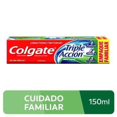 Crema Dental Colgate Triple Acción