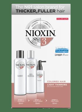 NIOXIN SYS3 TRIALKIT SH300+CN300+TR100