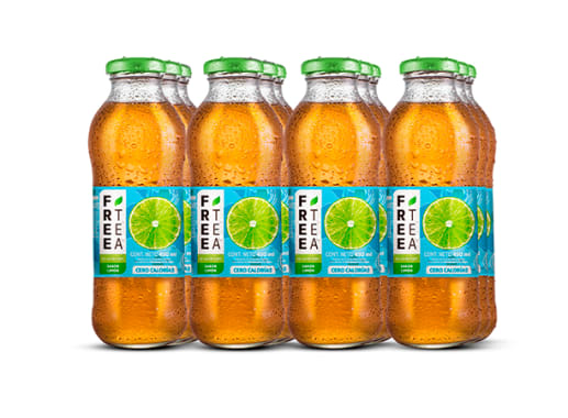 Free Tea Té verde Light Sabor a Limón 450ml