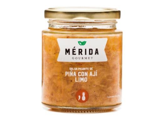 MÉRIDA - SALSA PICANTE DE PIÑA CON AJÍ LIMO