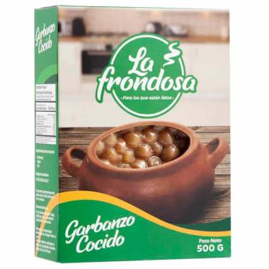 GARBANZO COCIDO 500G LA FRONDOSA