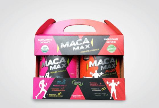 PACK MACA MAX 500G Y MACA MAX PLUS 500G
